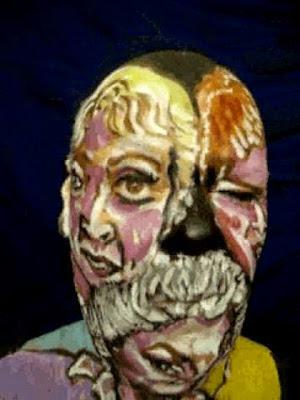 Golden Girls face paint art Video Artist James Kuhn  PopScreen