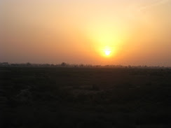 Sunset in Vrindavan