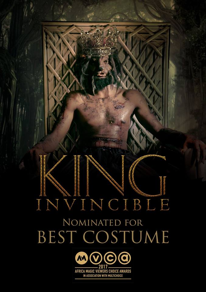 """AMVCA NOMINATED """"KING INVINCIBLE""""; PREMIERES THIS WEDNESDAY"""