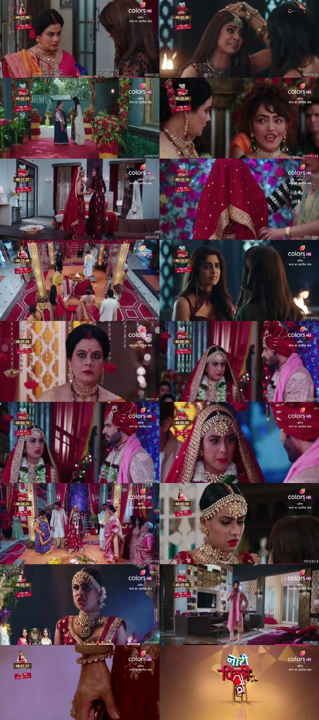 Screenshots Of Hindi Show Naagin Season 4 2020 Episode 13 300MB 480P HD