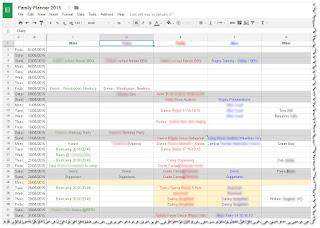 calendar multiple years