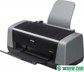 How to Reset Epson ME-1 inkjet printer – Reset flashing lights error