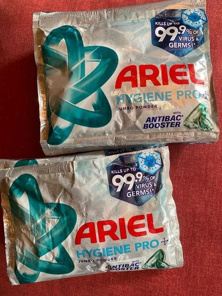 Keeping our home clean with Ariel Hygiene Pro