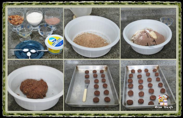 Biscoito de chocolate da Marine 3