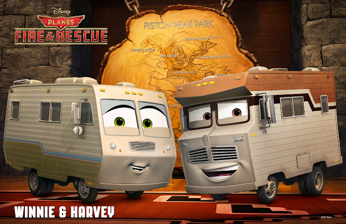 Disney Planes: Fire & Rescue - Winnie & Harvey (Planes Fire and Rescue)