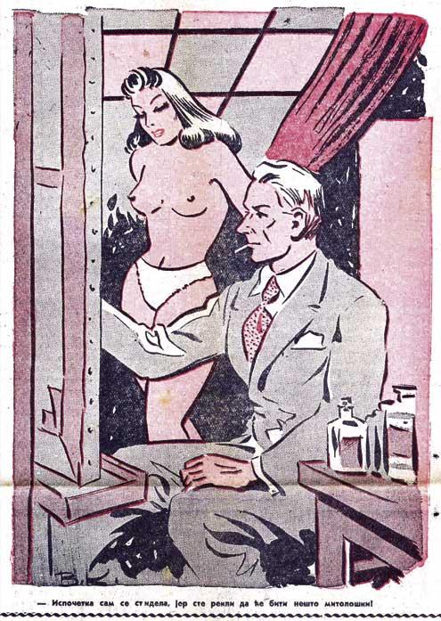 Okrutni porno stripovi