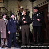 Michael Schaefer, Michael Rzepka, Robert Hegeman, Daniel Martin and Richard Messina in ARSENIC AND OLD LACE (R) - May 2011.  Property of The Schenectady Civic Players Theater Archive.