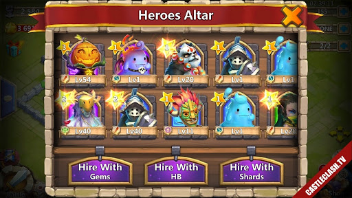 New Castle Clash Account No Name Have PD