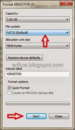 Mengatasi Flashdisk Tidak Terbaca Vcd Dvd Player Irlashop Com