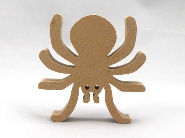Handmade Halloween Spider Made From MDF A Wood Product