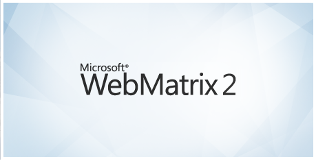 Welcome to Web Matrix 2