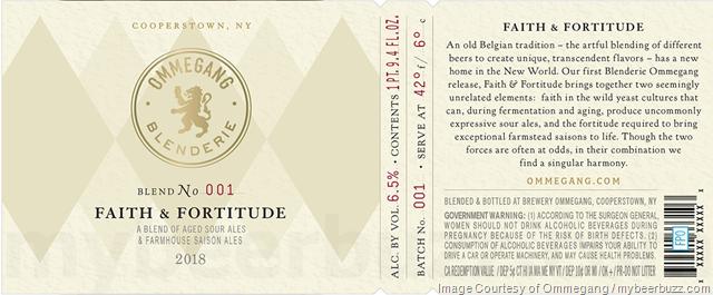 Ommegang Blenderie Faith & Fortitude Blend 001