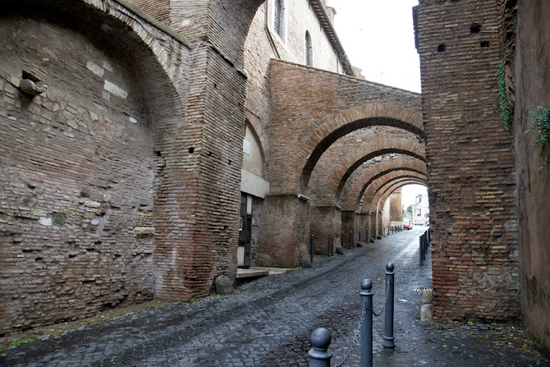10. Ancient street. Rome.2013