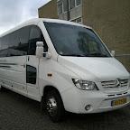 Mercedes 0818 D van Travel limousine service