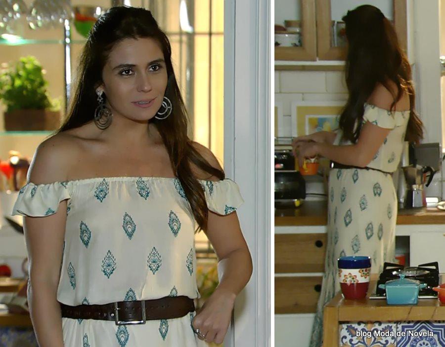 moda da novela Em Família - look da Clara dia 01 de julho