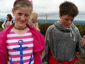 Photo: Aoife and Conor from Sweden on the Festival C walk, Sunday June 1st, 2014