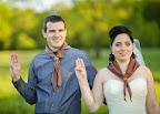 Skautská svatba - Brumík a Zdeňa