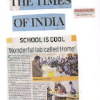 Article in NIE Times 1st Dec,2015 of WIS Pawan Baug