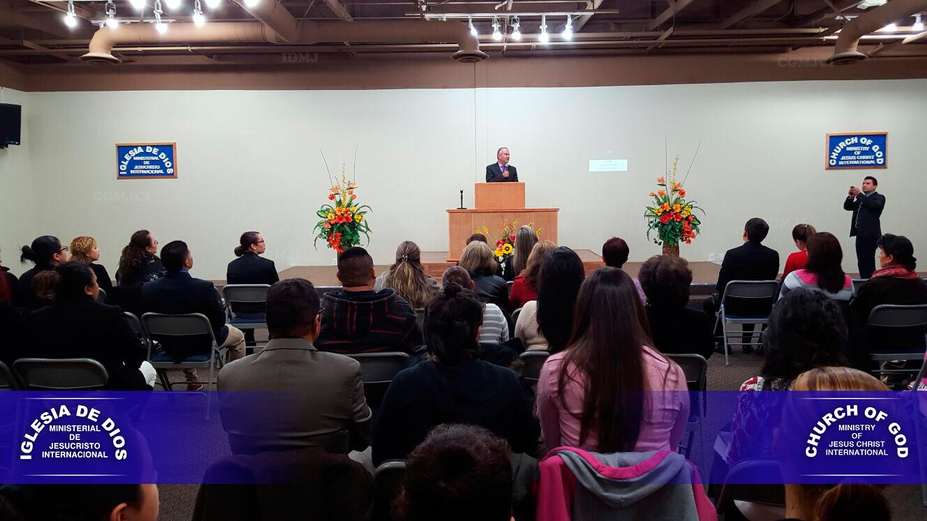 Usa 209 Nevada Las Vegas El Culto A La: Visita Hno Andrés Carrillo A La Iglesia De Las Vegas