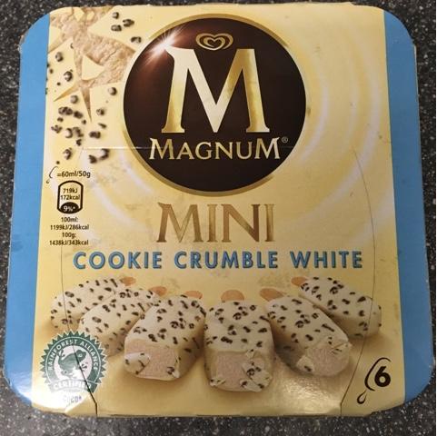 Magnum Cookie White