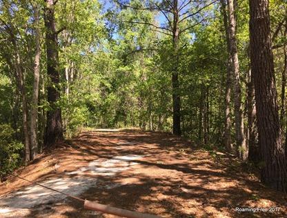 Short hiking path