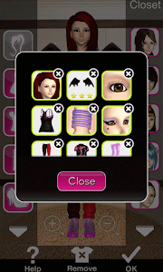 Click to Enlarge - Style Me Girl Level 51 - Block Party - Rachel - Closet