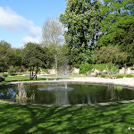 Jardin du Palais du roi de Rome
