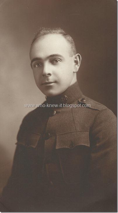 Mervyn Gunzendorfer 1916-1917