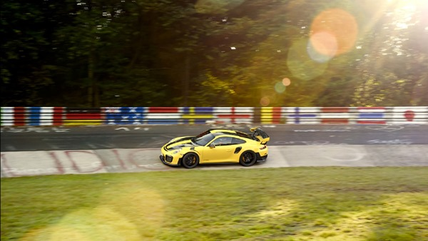 Porsche 911 gt2 rs nurb record