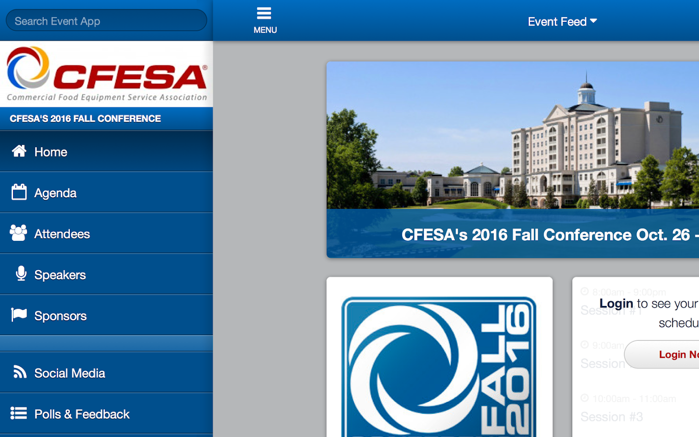 CFESA Fall- screenshot