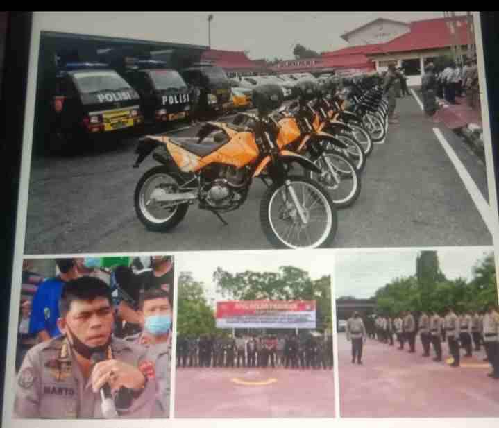 Polda Riau Siap Gelar Pengamanan Pemungutan suara ulang ( PSU ) Pemilihan Bupati Di kabupaten Rohul & Inhu