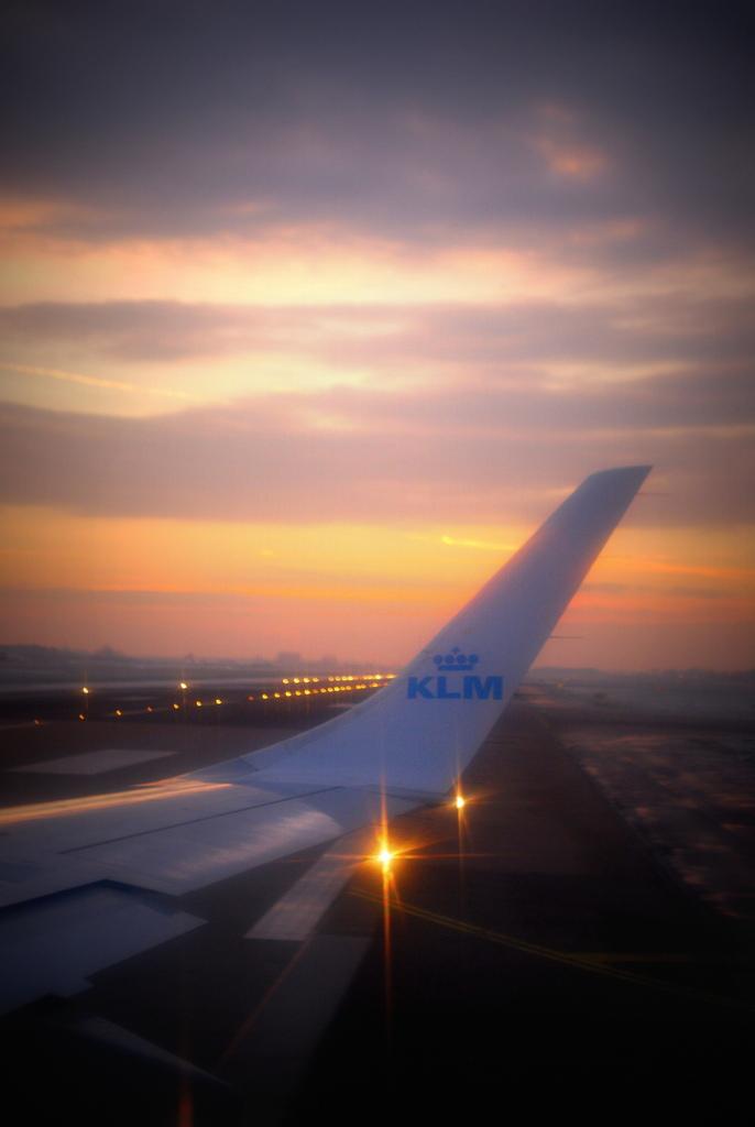 Avis du vol klm amsterdam frankfurt en economique - A quelle heure le soleil se couche t il ...