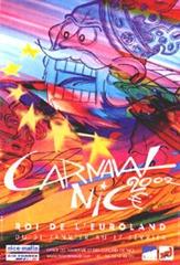 Carnaval de Nice affiche 2002