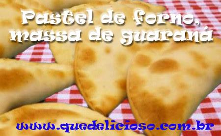 Pastel de forno, massa de guaraná