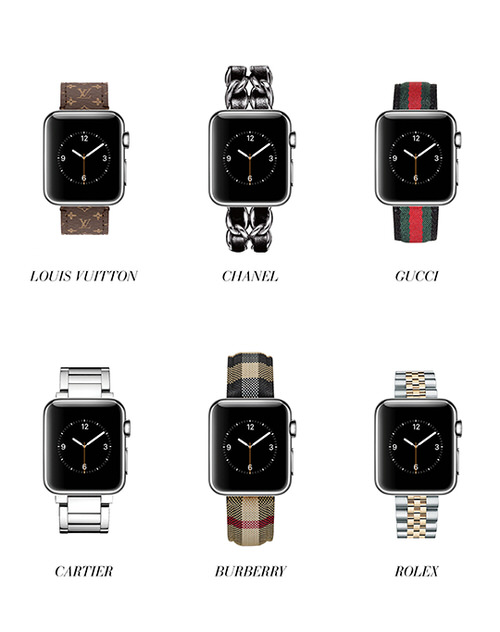 Apple WatchとROLEXやCARTIER、GUCCIがコラボ