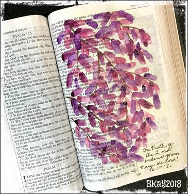 Bible Art - Ps 117