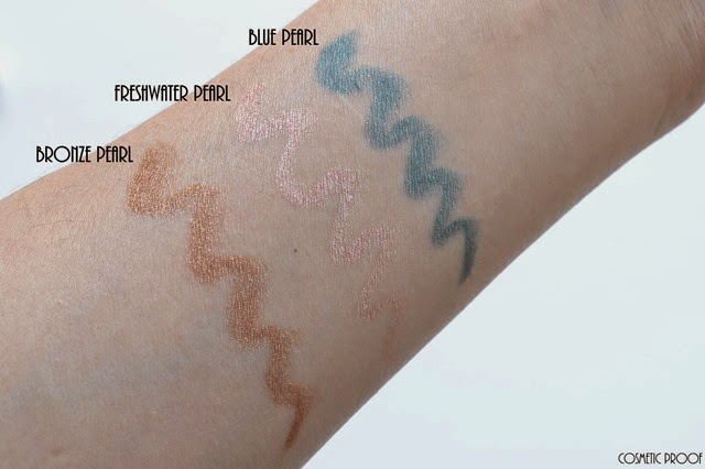 Elizabeth Arden Sunkissed Pearls Cream Eye Shadow Stylo Review Swatches (3)