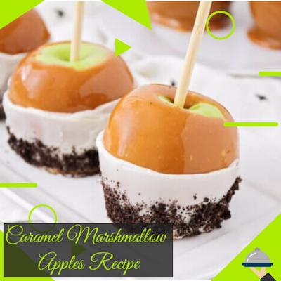 Caramel Marshmallow Apples Recipe