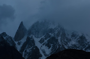 Lady Finger, on a cloudy morning in Hunza