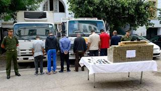 Une tentative d'acheminement de plus de quatre quintaux de kif traité déjouée à Tlemcen