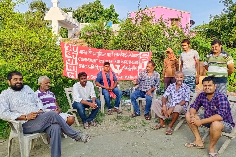 """चकमेहसी को प्रखंड बनाने"""" अभियान के तहत चकमेहसी के गांव-गांव में बैठक करेगी भाकपा-माले: रंजीत राम"""