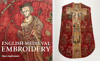 Book Notice: English Medieval Embroidery - Opus Anglicanum from Yale University Press