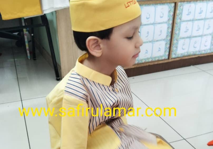 Zeref rayyan ke sekolah