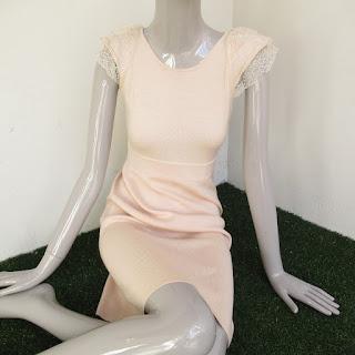 Valentino Cashmere/Silk Blend Blush Pink Dress