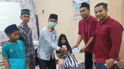 Baznas Padang Pariaman Apresiasi UPZ Nagari Sintuak Adakan Bubar dan Berikan Santunan