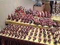Chocolate figures display
