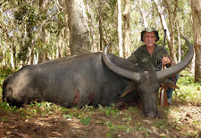 Greg Retschlag took this big buffalo cow in May with his Ruger single shot 375 H&H