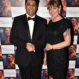 OIC - ENTSIMAGES.COM - Director Rajan Kumar Patel and Producer Caroline O'Reilly at the  : Feast of Varanasi  UK film premiere during the London Asian Film Festival 5th March 2016 Photo Mobis Photos/OIC 0203 174 1069