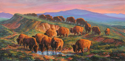 """Buffalo Waterhole"""