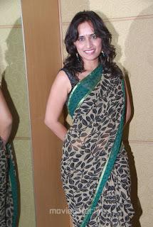 Chinmayi Ghatrazu Hot Saree Stills